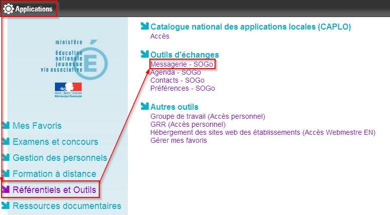 Tuto mail formation et ressources num riques for Lille 2 webmail