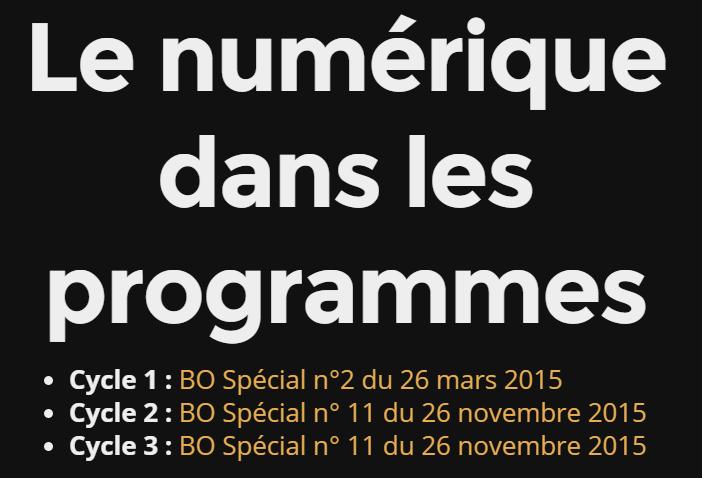2016-03-08 17_19_57-Le numérique dans les nouveaux programmes 2016