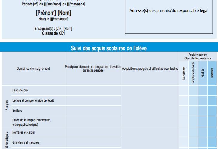 Tout sur le Livret Scolaire Unique Numérique LSU - Formation et ...