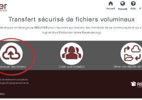 Envoyer des fichiers et dossiers volumineux avec FileSender