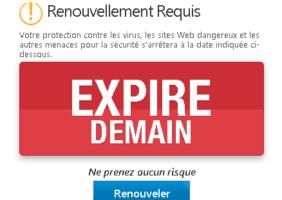 Renouveler l'antivirus académique Trend Micro